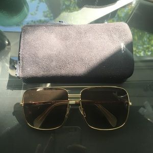 Celine Paris Aviator Sunglasses